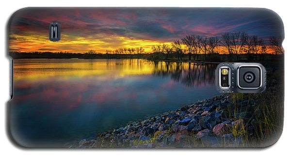 Galaxy S5 Case featuring the photograph Calm by John De Bord