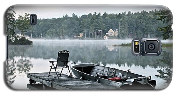 Calm Morning On Little Sebago Lake Galaxy S5 Case