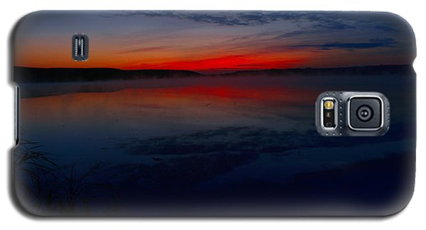 Calm Of Early Morn Galaxy S5 Case by Jeff Swan