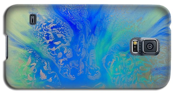 Calm Waters Abstract Galaxy S5 Case