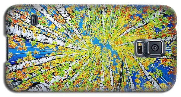 Calming Canopy Galaxy S5 Case by Jackie Carpenter