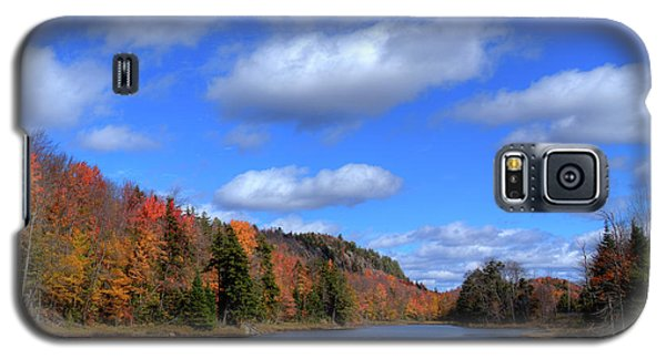 Calmness On Bald Mountain Pond Galaxy S5 Case by David Patterson