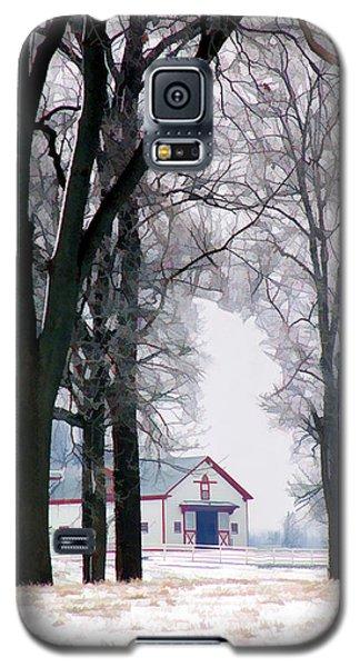 Calumet Winter Galaxy S5 Case