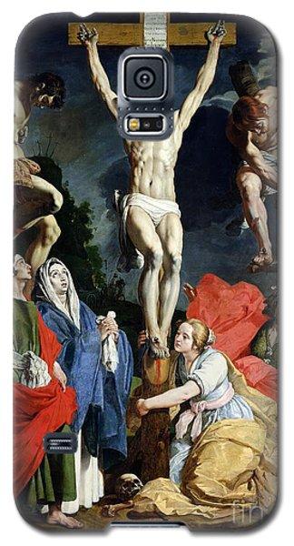 Religious Galaxy S5 Case - Calvary by Abraham Janssens van Nuyssen
