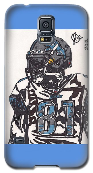 Calvin Johnson Jr 3 Galaxy S5 Case by Jeremiah Colley