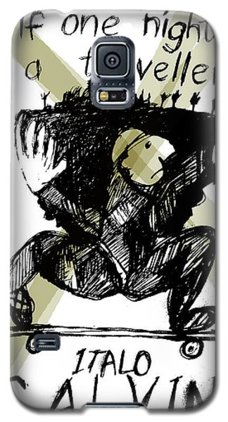 Calvino Traveller Poster  Galaxy S5 Case