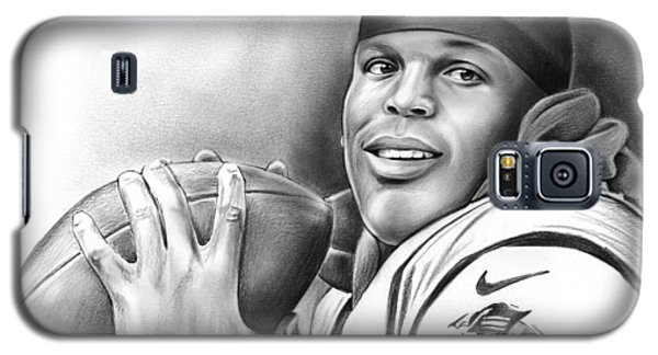 Cam Newton Galaxy S5 Case by Greg Joens