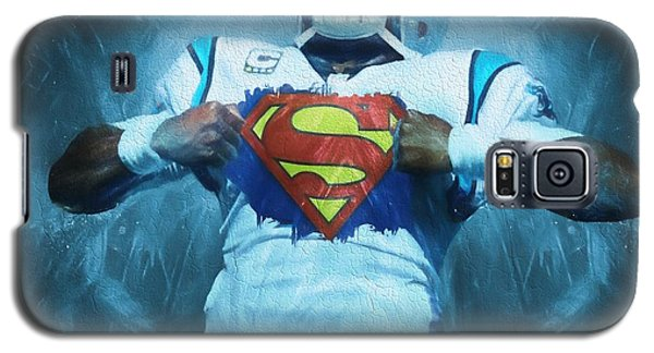 Cam Newton Superman Galaxy S5 Case by Dan Sproul