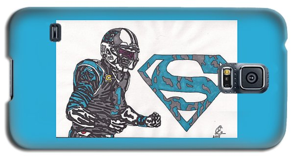 Cam Newton Superman Edition Galaxy S5 Case by Jeremiah Colley