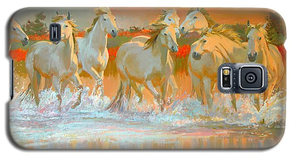 Camargue  Galaxy S5 Case by William Ireland