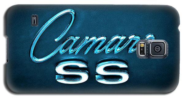 Galaxy S5 Case featuring the photograph Camaro S S Emblem by Mike McGlothlen