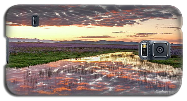 Galaxy S5 Case featuring the photograph Camas Spring Sunrise by Leland D Howard