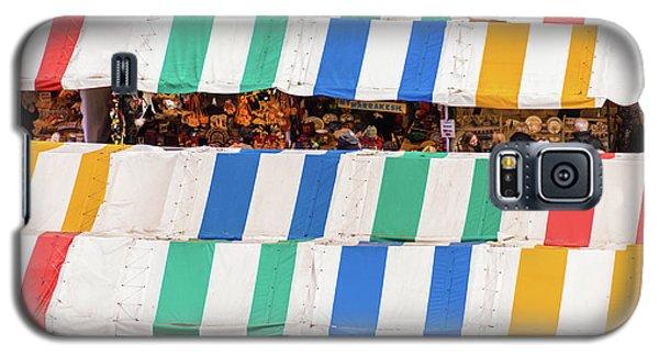 Cambridge Market Stripes Galaxy S5 Case by David Warrington