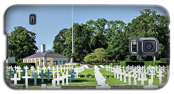 Cambridge England American Cemetery Galaxy S5 Case by Alan Toepfer