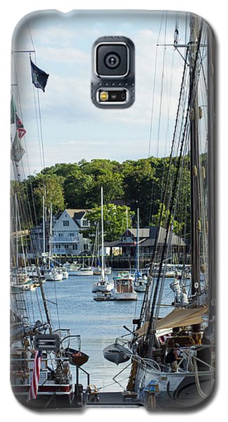 Camden Maine 4 Galaxy S5 Case by Dick Botkin