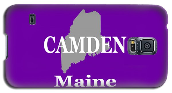 Galaxy S5 Case featuring the photograph Camden Maine State City And Town Pride  by Keith Webber Jr