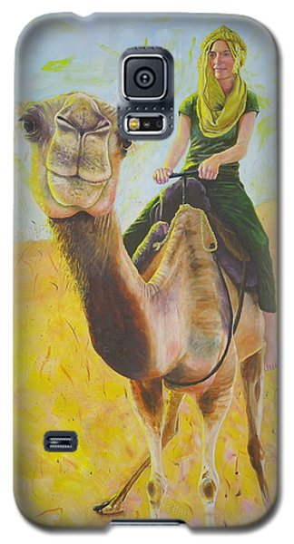 Camel At Work Galaxy S5 Case