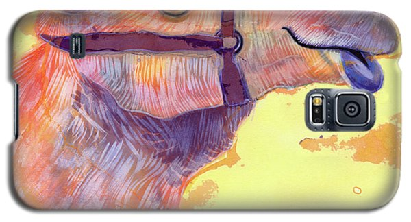 Camel Galaxy S5 Case by Jane Tattersfield