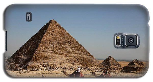 Camel Ride At The Pyramids Galaxy S5 Case