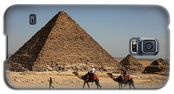 Camel Ride At The Pyramids Galaxy S5 Case