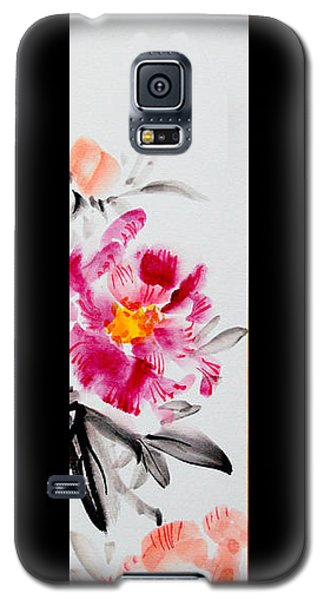 Camellia And Butterfly Galaxy S5 Case