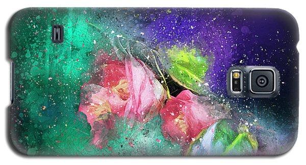 Camellias In A Galaxy Far Far Away Galaxy S5 Case