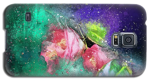 Camellias In A Galaxy Far Far Away Galaxy S5 Case