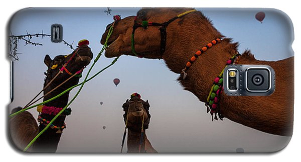 Camels And Balloons Galaxy S5 Case