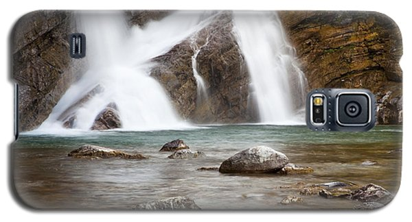 Cameron Falls In Waterton Lakes National Park Galaxy S5 Case
