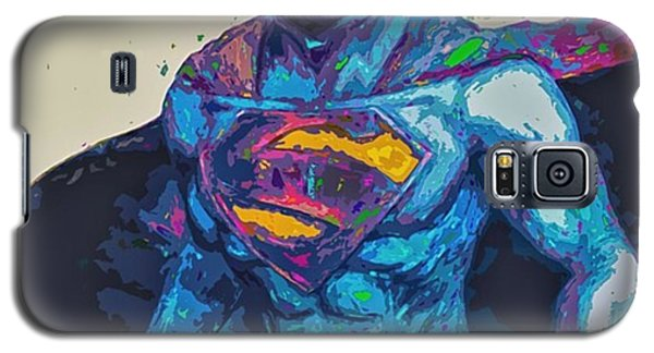 Superhero Galaxy S5 Case - @cameron1newton #superbowl50 #2016 #art by David Haskett II