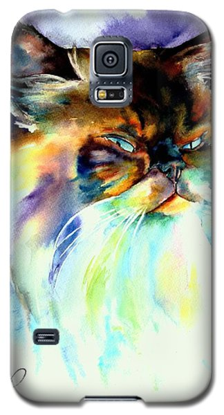 Galaxy S5 Case featuring the painting Camille by Christy Freeman