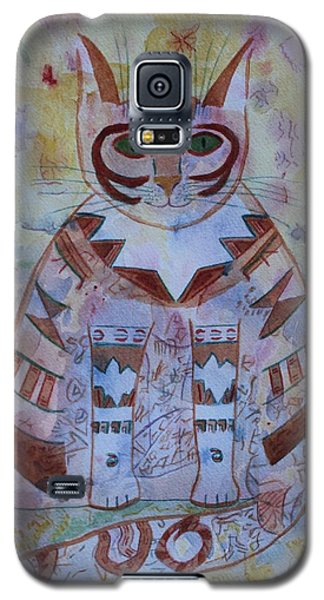 Camo Cat Galaxy S5 Case