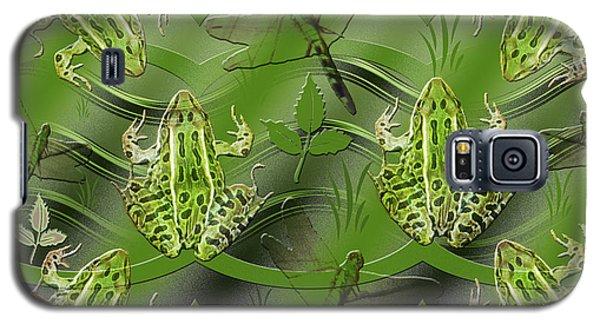 Camo Frog Dragonfly Galaxy S5 Case
