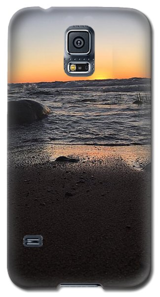 Galaxy S5 Case featuring the photograph Camp In The Fall by Paula Brown