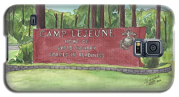 Camp Lejeune Welcome Galaxy S5 Case