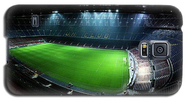 Camp Nou At Night Galaxy S5 Case