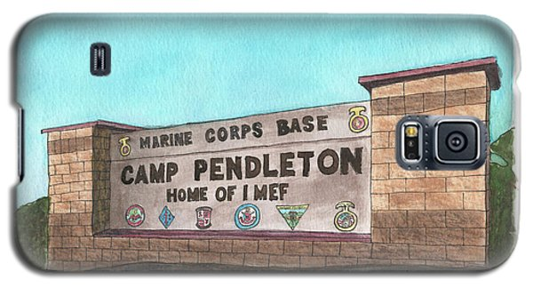 Camp Pendleton Welcome Galaxy S5 Case