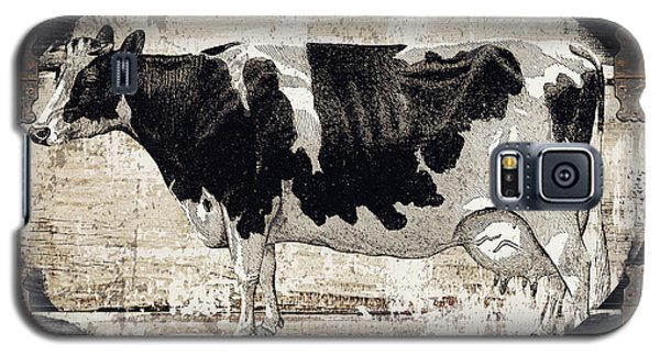 Cow Galaxy S5 Case - Campagne I French Cow Farm by Mindy Sommers