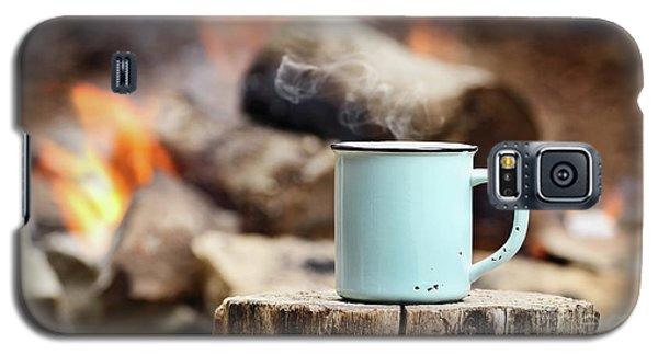 Campfire Coffee Galaxy S5 Case by Stephanie Frey