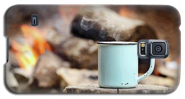 Campfire Coffee Galaxy S5 Case
