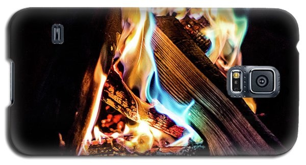Campfire In July Galaxy S5 Case