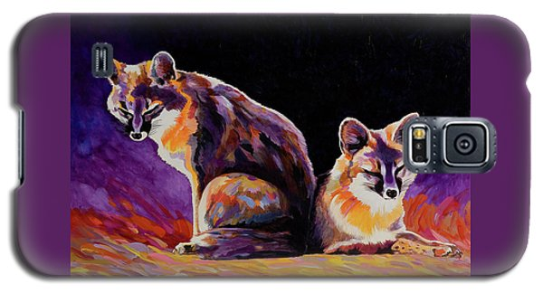 Campfire Surveillance Team Galaxy S5 Case by Bob Coonts