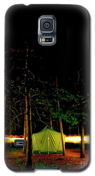 Camping In The Deep Woods   Galaxy S5 Case