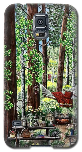 Camping Paradise Galaxy S5 Case