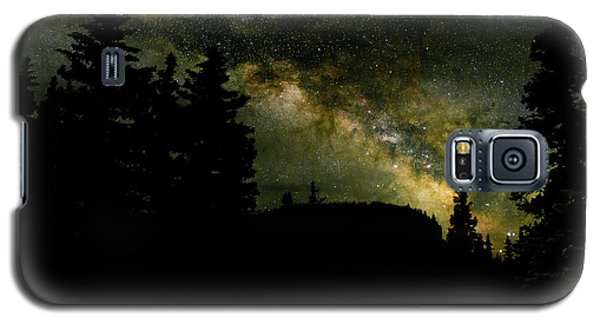 Camping Under The Milky Way 2 Galaxy S5 Case