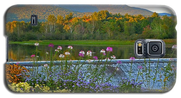 Campton Pond Campton New Hampshire Galaxy S5 Case by Nancy Griswold