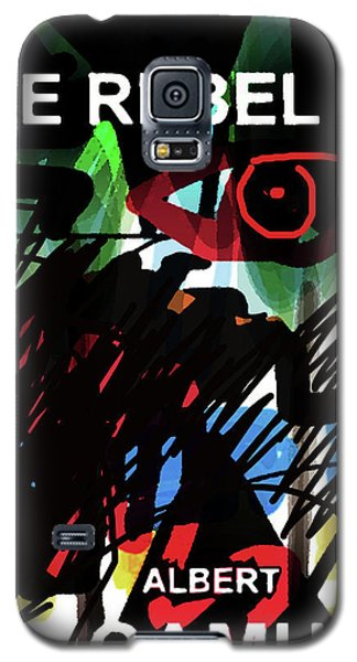 Camus The Rebel  Poster Galaxy S5 Case