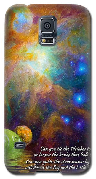 Can You Tie The Pliades Together? Galaxy S5 Case by Chuck Mountain