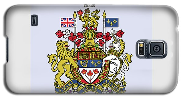 Canada Coat Of Arms Galaxy S5 Case by Movie Poster Prints