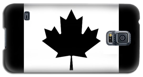 Galaxy S5 Case featuring the photograph Canada Round Beach Towel In Black by Pierre Leclerc Photography